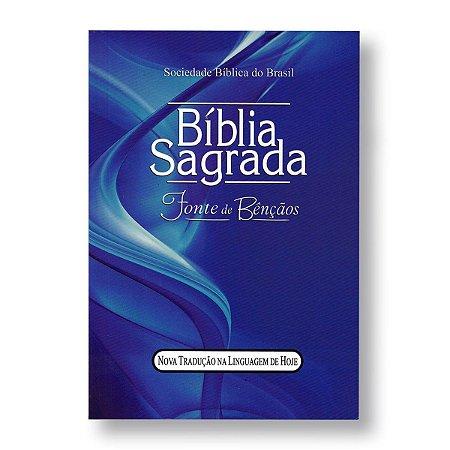 BÍBLIA NTLH 040LMFB LETRA MAIOR FONTE DE BÊNÇÃOS BROCHURA