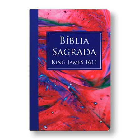 BÍBLIA KING JAMES 1611 CAPA ESPECIAL LETRA NORMAL MARMORIZADO