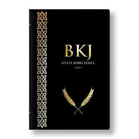 BÍBLIA KING JAMES FIEL 1611 CAPA PRETA
