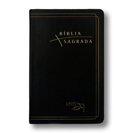 BÍBLIA ALMEIDA 21 LUXO REFERÊNCIAS CRUZADAS - PRETA