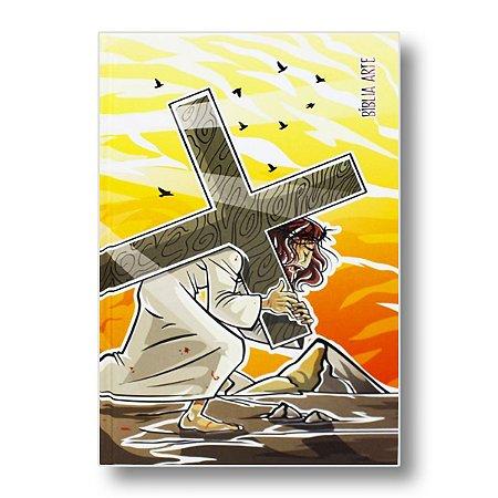 BÍBLIA ARTE NA63M SACRIFÍCIO CAPA DURA