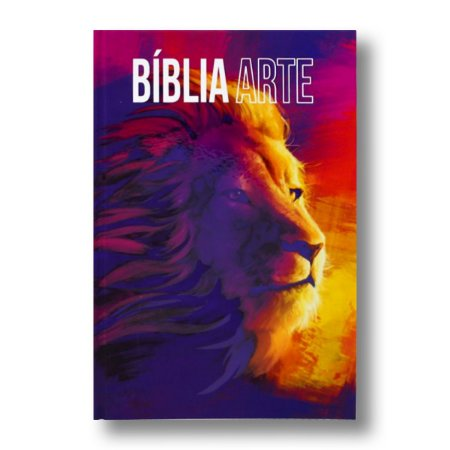 BÍBLIA ARTE NA63M LEÃO / FORÇA CAPA DURA