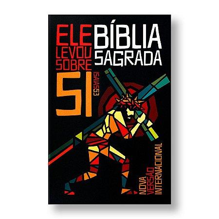 BÍBLIA LEITURA PERFEITA - CAPA DURA CALVÁRIO