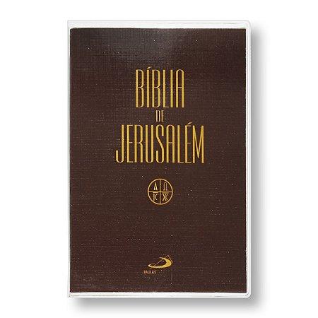 BÍBLIA DE JERUSALEM (CATÓLICA) CAPA CRISTAL / BROCHURA