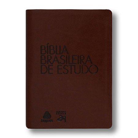 BÍBLIA BRASILEIRA DE ESTUDO MARROM