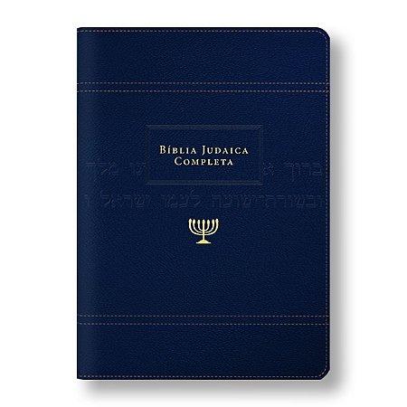 BÍBLIA JUDAICA COMPLETA LX ONETONE - AZUL