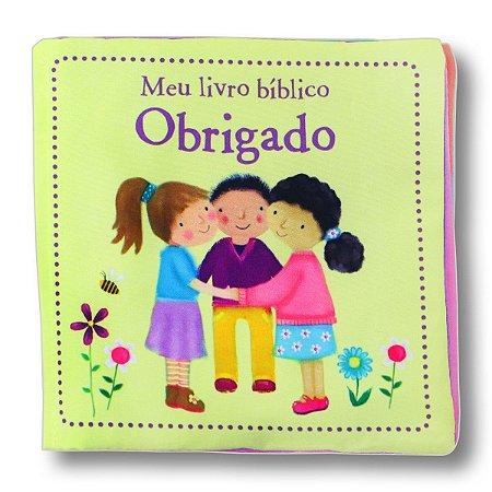 MEU LIVRO BÍBLICO OBRIGADO - LIVRO DE PANO