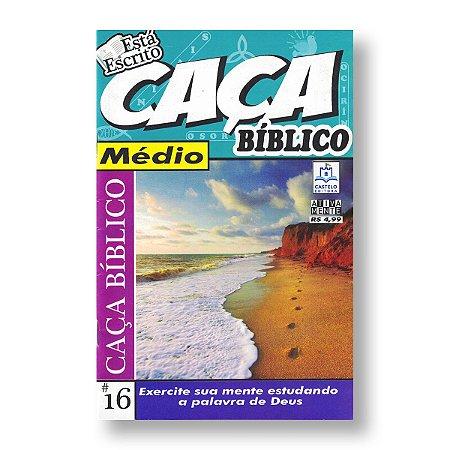 CAÇA BÍBLICO - 16 CAÇA MÉDIO