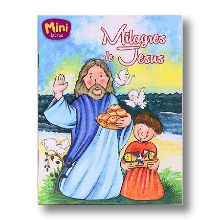 MINI BÍBLICOS MILAGRES DE JESUS