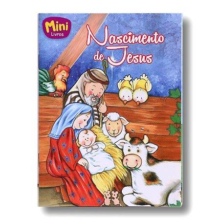 MINI BÍBLICOS NASCIMENTO DE JESUS