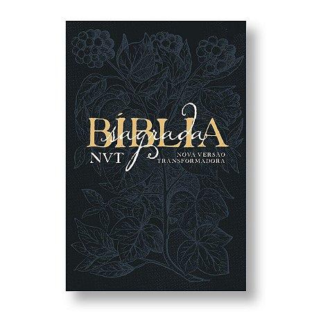 BÍBLIA NVT LETRA GRANDE EDEN AZUL
