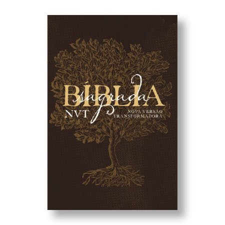 BÍBLIA NVT LETRA GRANDE EDEN MARROM