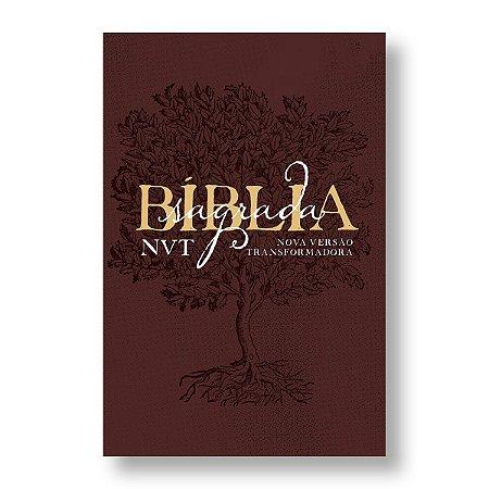 BÍBLIA NVT LETRA GRANDE EDEN VINHO