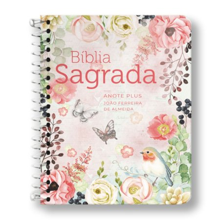 BÍBLIA RC ANOTE PLUS ESPIRAL CLÁSSICA VIRTUOSA