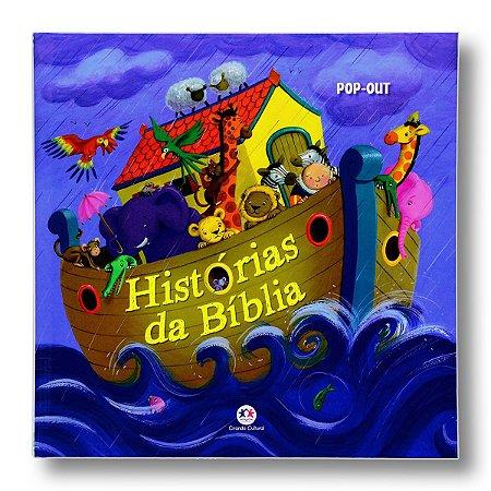 HISTÓRIAS DA BÍBLIA LIVRO POP-OUT
