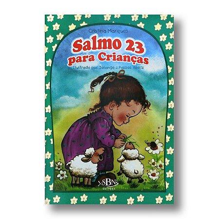 PORÇÕES BÍBLICAS: SALMO 23 PARA CRIANÇAS