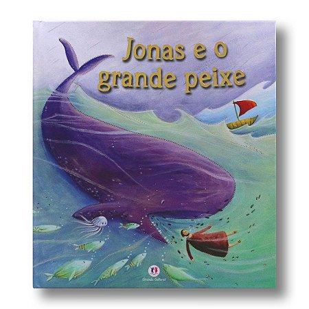 CADERNO HISTÓRIAS BÍBLICAS - JONAS E O GRANDE PEIXE
