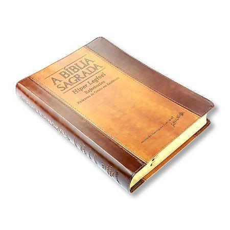 BÍBLIA ACF HIPERLEGÍVEL COM REFERÊNCIAS E ÍNDICE CHOCOLATE HAVANA