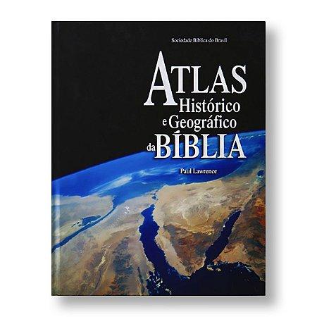ATLAS HISTÓRICO E GEOGRÁFICO - CAPA DURA