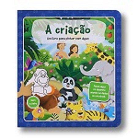 A CRIAÇÃO - PINTAR COM ÁGUA