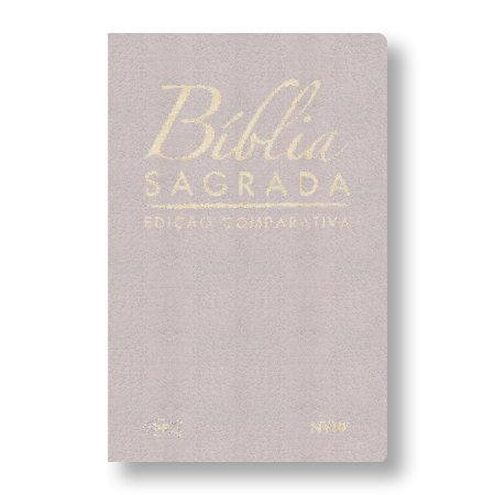 BÍBLIA COMPARATIVA RC-NVI LUXO LETRA NORMAL CAPA BEGE