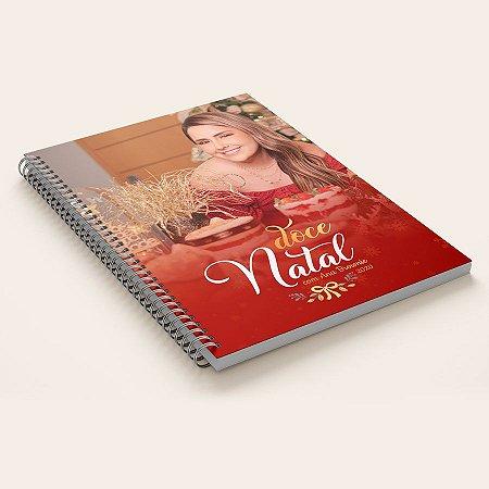 Livro Impresso de Receitas Doce Natal 2020