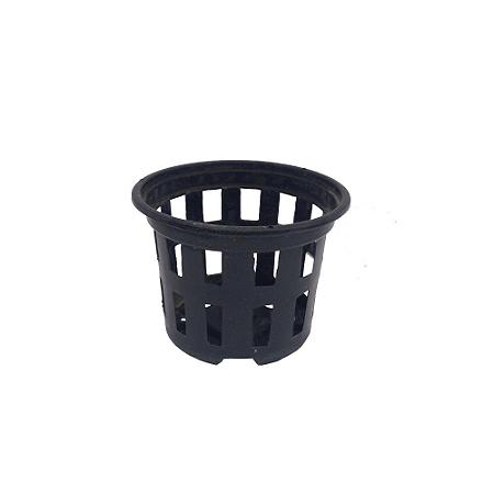 Kit 10 Vasos Rede Pote 10 - Preto