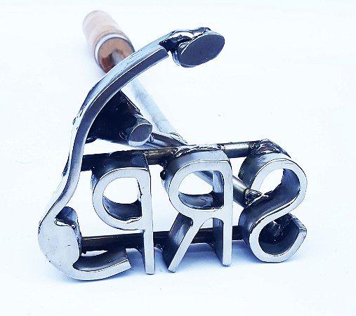 Marcador de Gado Personalizado 3 letras