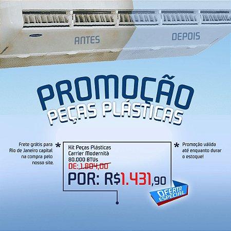 Kit Peças Plásticas Carrier Modernita 80.000 BTUs