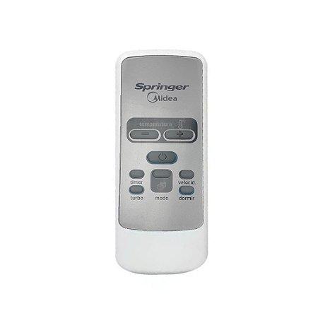 Controle Remoto GW79037009 Ar Condicionado 7500 – 30000 BTUs Springer Midea DUO Silentia Minimax