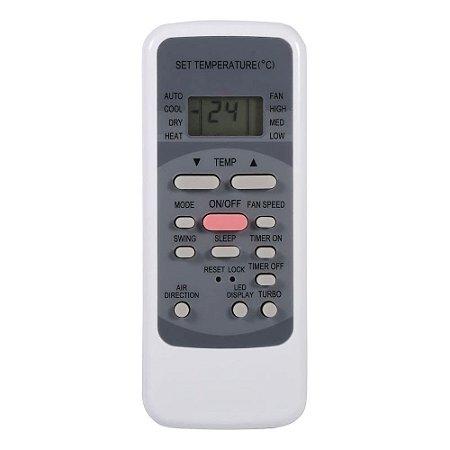 Controle Remoto 17317000000113 R51M/E Ar Condicionado 7500 - 28000 BTUs Springer Midea