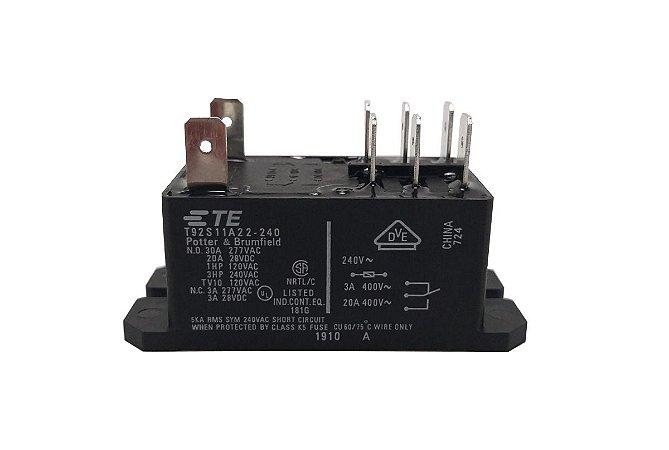 Rele 30A 240V Condensadora Ar Condicionado 18000 – 60000 BTUs Carrier Springer Midea