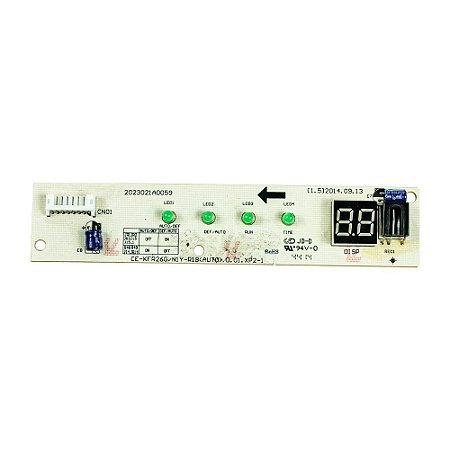 Placa Receptora Evaporador 201332390864 Ar Condicionado 9000 - 18000 BTUs Comfee Admiral
