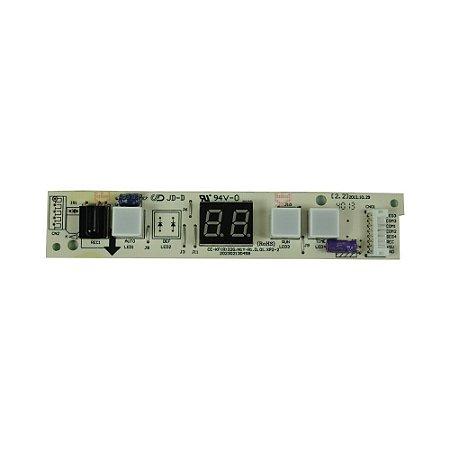 Placa Receptora Evaporador 201333090164 Ar Condicionado 7500 - 22000 BTUs Springer Midea Comfee