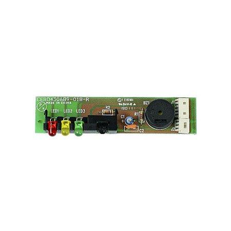 Placa eletrônica receiver B033463H12 Ar Condicionado 18000 - 60000 BTUs Carrier