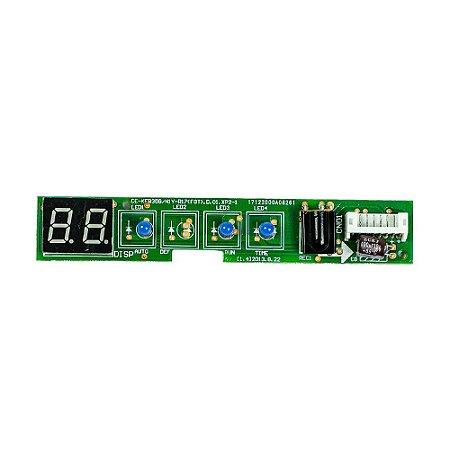 Placa Receptora Evaporador 2013325A0600 Ar Condicionado 7500 - 12000 BTUs Springer Way