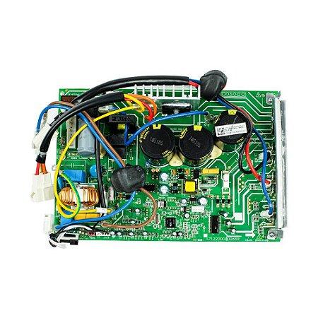 Placa Principal Condensador 201337790059 Ar Condicionado Inverter 18000 BTUs Carrier Midea