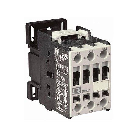 Contator Tripolar CWM25-00-30D23 25A 220V WEG