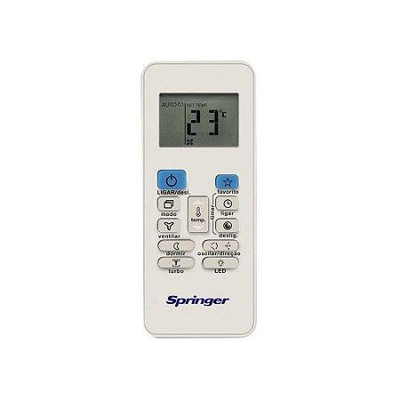 Controle Remoto 2033550A0451 Ar Condicionado 7500 - 30000 BTUs Springer