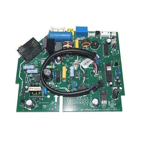 Placa Principal Evaporadora 2013325A0607 Ar condicionado Inverter 12000 BTUs Carrier
