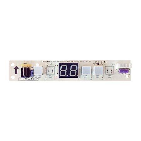 Placa Receptora Evaporador 201332590765 Ar Condicionado 7500 - 12000 BTUs Springer Up