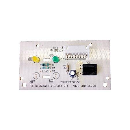 Placa Receptora Evaporador 2013328A0010 Ar Condicionado 18000 BTUs Springer Maxiflex