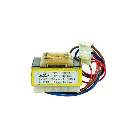 Transformador 32830074 Placa Eletronica Tensao 8w 230vac - 12vac Ar Condicionado Springer Carrier