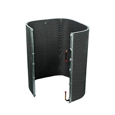 Serpentina Alumínio 11101037P Condensador 60000 BTUs Ar Condicionado Springer Carrier Midea