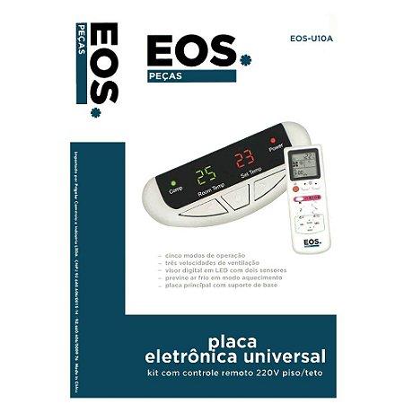 Placa Eletronica Universal C/controle Remoto Eos-u10a