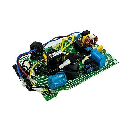 Placa Principal Condensador 201337390164 Ar Condicionado 9000 12000 BTUs Inverter Carrier Midea