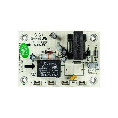 Placa Proteção Compressor 24V 35401769 Ar Condicionado Piso Teto 48000 - 60000 BTUs Midea
