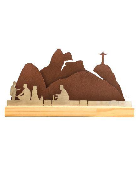 Escultura de Metal - Cenas do Rio