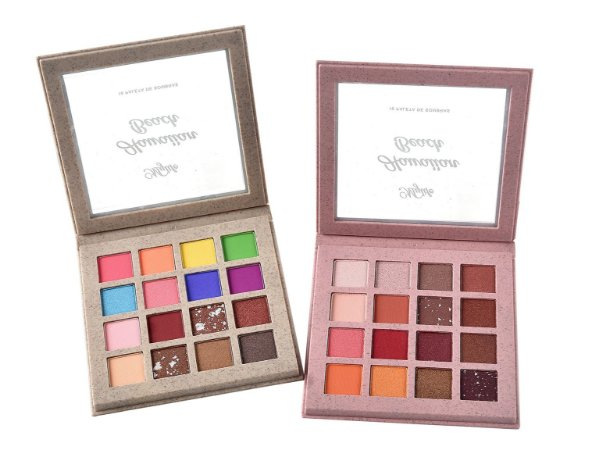 Paleta de Sombras Hawaiian Beach 16 cores Mylife