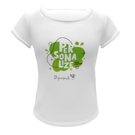 Camiseta Personalizada (Poliester) - Feminina